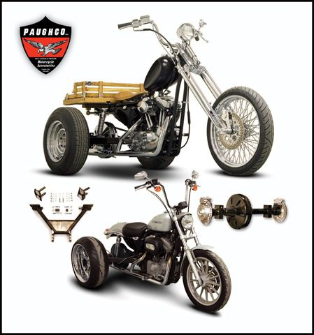Do it yourself bolt on sportster trike conversion kits the cycle do it yourself bolt on sportster trike conversion kits solutioingenieria Images