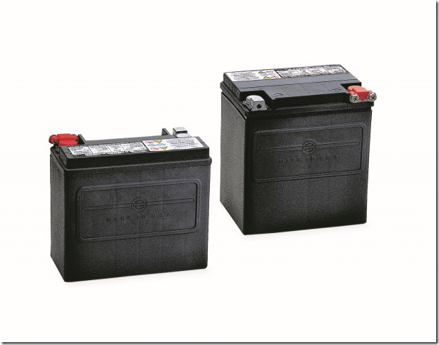 Genuine Harley-Davidson AGM Replacement Batteries