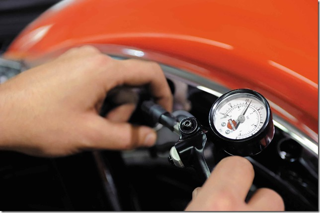 Check Tire Pressure with an Accurate Gauge