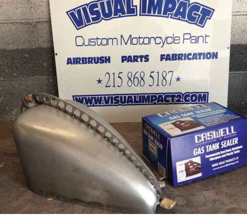 Fuel Tank Sealing–Tech with Visual Impact - The Cycle Source