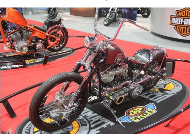 Retro MOD Winner from Gangster Choppers