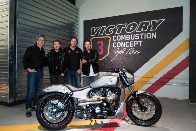 Mike Song, Roland Sands, Urs Erbacher and Zach Ness (Large)