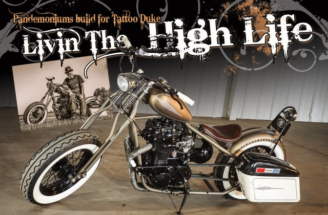 The High Life - Tatto Duke's XS650 - The Cycle Source