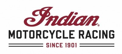 Indian racing logo