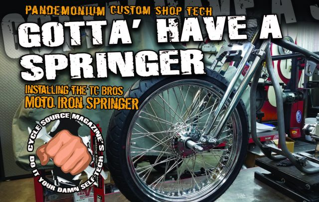 Gotta Have A Springer - The Cycle Source Magazine World Report