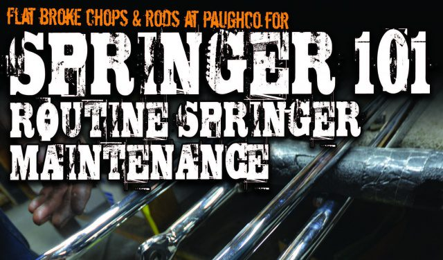 Springer 101: Routine Springer Maintenance - The Cycle