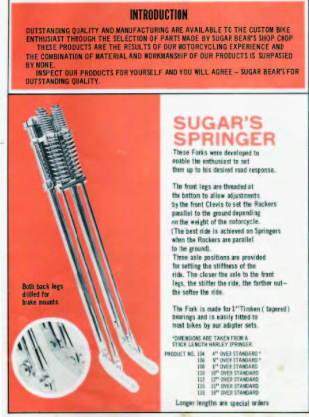 Chopper History With Sugar Bear - The Cycle Source Magazine