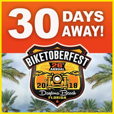 Daytona Beach 26th Annual Biketoberfest Rally October 18 21 2018 Celebrates The Adventure And Spirit Of Today S Motorcycle Enthusiast With Biker