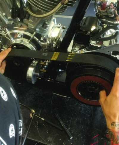 Installing Tech Cycles Open Belt Drive - The Cycle Source Magazine