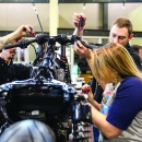 "HARLEY-DAVIDSON TEAMS WITH LOCAL TRADE SCHOOLS  FOR ""BATTLE OF THE KINGS"" BIKE BUILD COMPETITION"