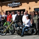 Flying Piston Builders Breakfast Rolls into Bruce Rossmeyer's Daytona Harley-Davidson for Daytona Bike Week